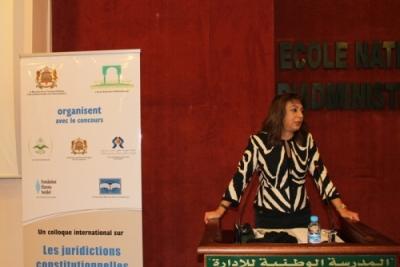 Directrice de l'ENA- Crédit image: Fondation Hanns-Seidel